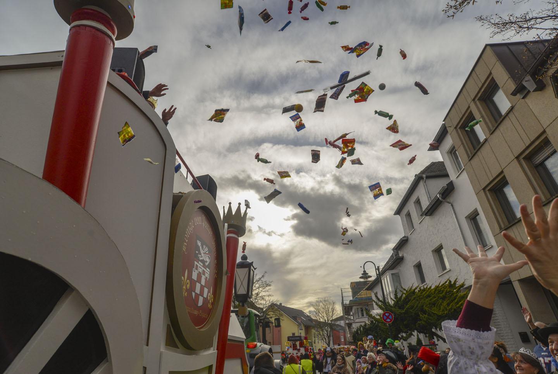 Rosenmontag 2019 Sieglar. Fotos: Carsten Seim